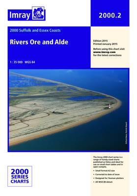 Imray Chart 2000.2: Rivers Ore and Alde (Sheet map, folded)