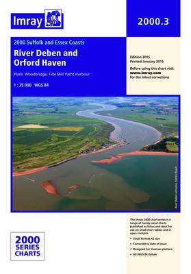 Imray Chart 2000.3: River Deben and Orford Haven (Sheet map, folded)