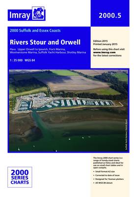 Imray Chart 2000.5: Rivers Stour and Orwell (Sheet map, folded)