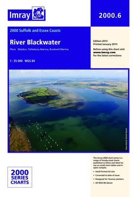 Imray Chart 2000.6: River Blackwater (Sheet map, folded)