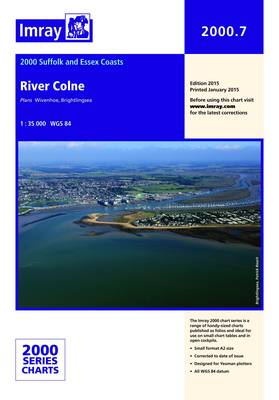 Imray Chart 2000.7: River Colne (Sheet map, folded)