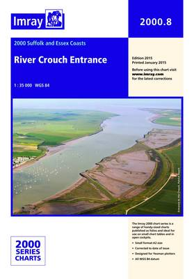 Imray Chart 2000.8: River Crouch Entrance (Sheet map, folded)
