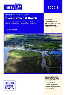 Imray Chart 2000.9: Rivers Crouch and Roach (Sheet map, folded)