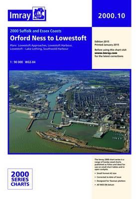 Imray Chart 2000.10: Orford Ness to Lowestoft (Sheet map, folded)
