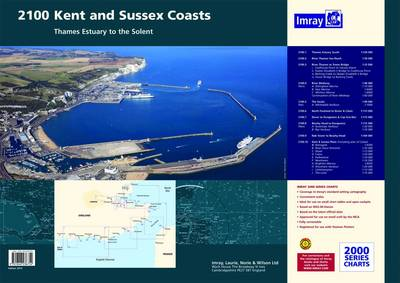 Imray Chart Pack 2100: Kent and Sussex Coasts Chart Pack (Sheet map, flat)