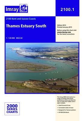Imray Chart 2100.1: Thames Estuary South (Sheet map, folded)