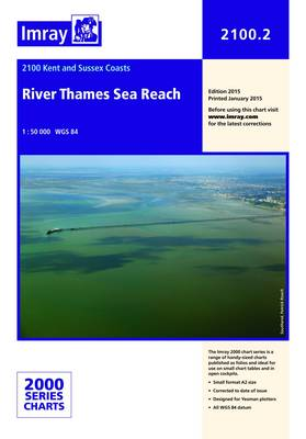 Imray Chart 2100.2: River Thames Sea Reach (Sheet map, folded)