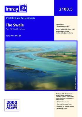 Imray Chart 2100.5: The Swale (Sheet map, folded)