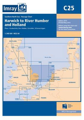 Imray Chart C25: Harwich to River Humber and Holland - C Series 25 (Paperback)
