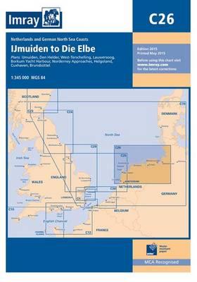 Imray Chart C26: Ijmuiden to die Elbe - C Series 25 (Paperback)