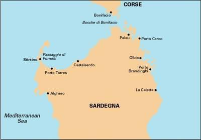 Imray Chart: North Sardegna - M Series 8 (Paperback)