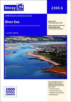 Imray Chart: Laminated River Exe - 2000 Series 2300.6 (Hardback)