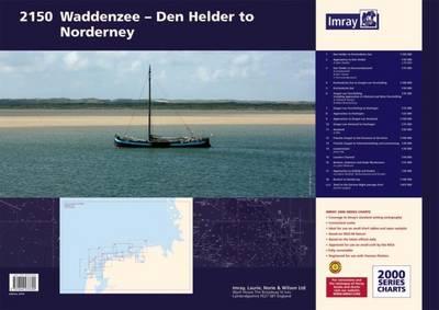 Imray Chart Atlas 2150: Waddenzee - Den Helder to Norderney - 2000 Series 2150 (Paperback)