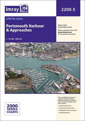 Imray Chart 2200.5: Portsmouth Harbour and Approaches - 2000 Series 2200.5 (Paperback)