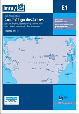 Imray Chart E1: Arquipelago DOS Acores - Iolaire (Paperback)