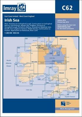 Imray Chart C62: Irish Sea (Paperback)