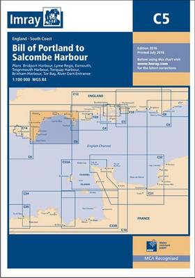 Imray Chart C5: Bill of Portland to Salcombe Harbour (Paperback)