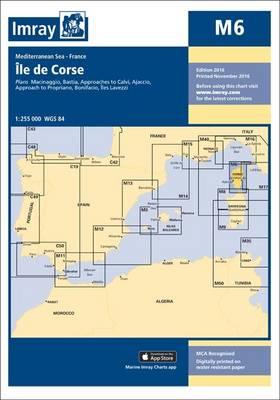 Imray Chart M6: Ile de Corse - M Series 6 (Sheet map, folded)