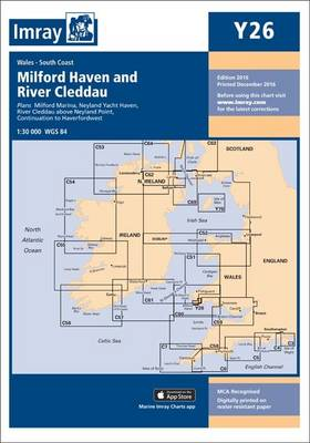 Imray Chart Y26: Milford Haven - Y Series 26 (Sheet map, folded)