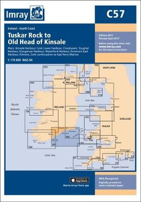 Imray Chart C57: Tuskar Rock to Old Head of Kinsale - C Series 57 (Sheet map)