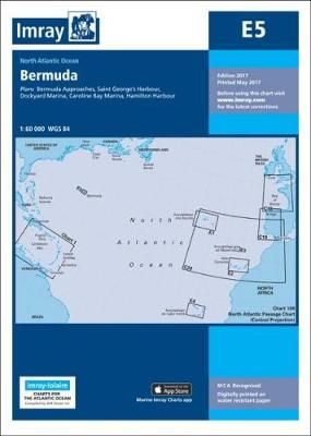 Imray Chart E5: Bermuda - Iolaire (Sheet map)