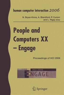 People and Computers: People and Computers XX - Engage Engage v. 20 (Paperback)