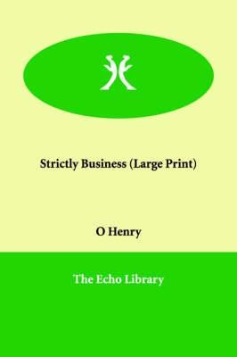 Strictly Business (Paperback)