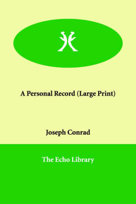 A Personal Record (Paperback)