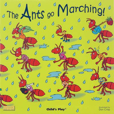 The Ants Go Marching - Classic Books with Holes US Soft Cover with CD (Board book)