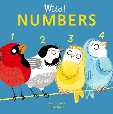 Numbers - Wild! Concepts 4 (Board book)