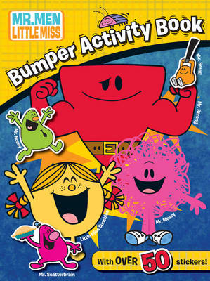 The Mr Men Show: Mr Men and Little Miss Bumper Activity Book (Paperback)