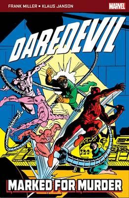 Daredevil: Marked for Murder - Marvel Pocketbooks (Paperback)
