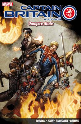 Captain Britain And Mi13: Vampire State (Paperback)