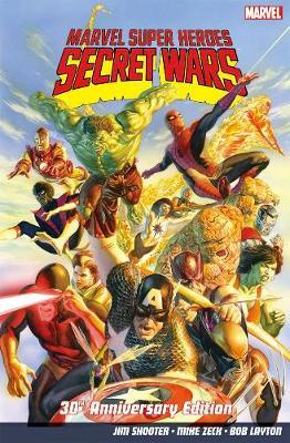 Marvel Super Heroes: Secret Wars 30th Anniversary Edition (Paperback)
