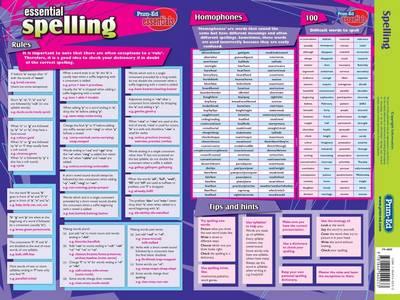 Spelling - Prim-Ed Essential Study Guides S.