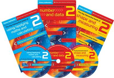 Primary Maths Year 2: The Big Interactive Book of Using/applying Maths and Calculating