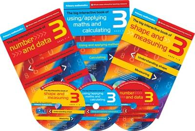 Primary Maths Year 3: The Big Interactive Book of Using/applying Maths and Calculating