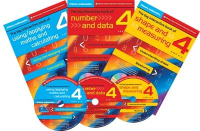 Primary Maths Year 4: The Big Interactive Book of Using/applying Maths and Calculating - Primary Maths