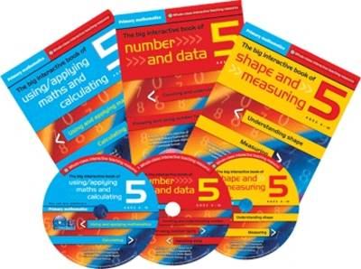 Primary Maths Year 5: The Big Interactive Book of Using/applying Maths and Calculating - Primary Maths