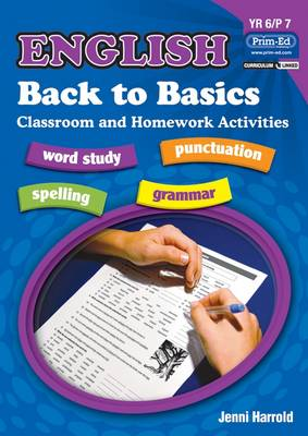 English Homework: Bk. F: Back to Basics Activities for Class and Home (Paperback)