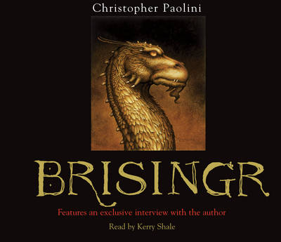 Brisingr: Book Three - The Inheritance Cycle 3 (CD-Audio)