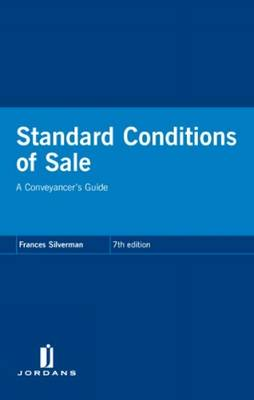 Standard Conditions of Sale: A Conveyancer's Guide (Paperback)