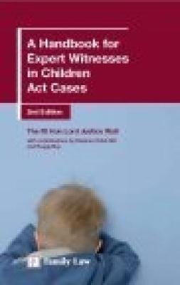 A Handbook for Expert Witnesses in Children Act Cases (Paperback)