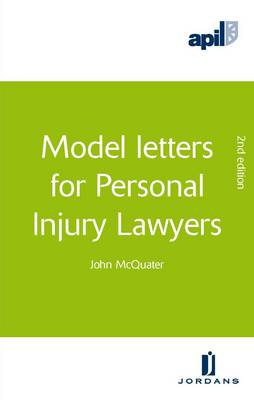 APIL Model Letters for Personal Injury Lawyers