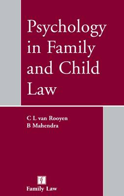 Psychology in Family and Child Law (Paperback)