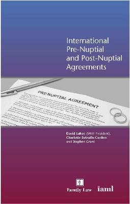 International Pre-Nuptial and Post-Nuptial Agreements (Paperback)