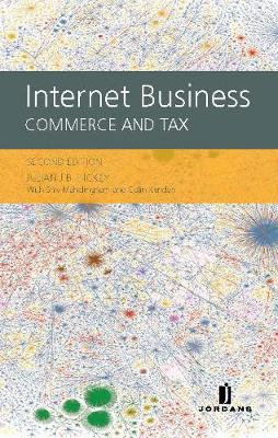 Internet Business: Commerce and Tax (Hardback)