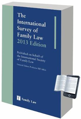 International Survey of Family Law 2013 (Hardback)