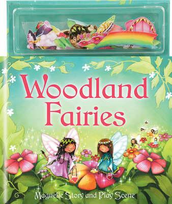 Woodland Fairies - Magnetic Story and Play Scene (Hardback)