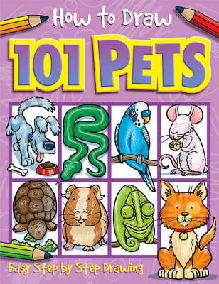 101 Pets - How to Draw (Paperback)